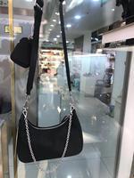 2020 senior designer diagonal Chain Handbag Oxford cloth bag Oxford cloth with leather multi purpose diagonal women's handbag