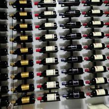Modern Iron Wine Rack Wall Mounted Wine Holder Home Bar Decor Wine Glass Hanging Holder Storage Organizer Rack Home Decoration