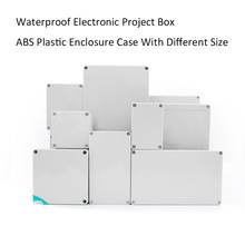 NOVFIX Waterproof Electronic Project Box ABS Plastic Enclosure Case Junction Box