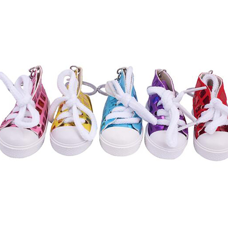 Mini Sneaker Keychain Women Jewelry Charm Gifts New Shoes Key Ring Sport Style Chain