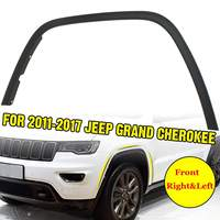 Car Front Right&Left Fender Flares Arch Wheel Auto Mudguard Fender Flare Protector Cover Mud Guard For Jeep Grand Cherokee