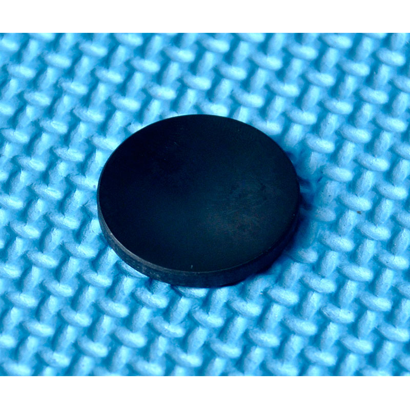 18mm Black Glass Filter Lens Pass 808nm-1064nm IR Lasers Against 400nm-750nm