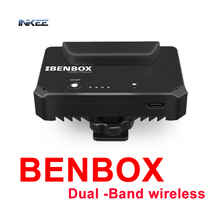 INKEE Benbox Dual Band Wireless Video Transmitter 2.4G/5G 1080P Mini HDMI Device Image Transmitter For DSLR iPhone iPad Android