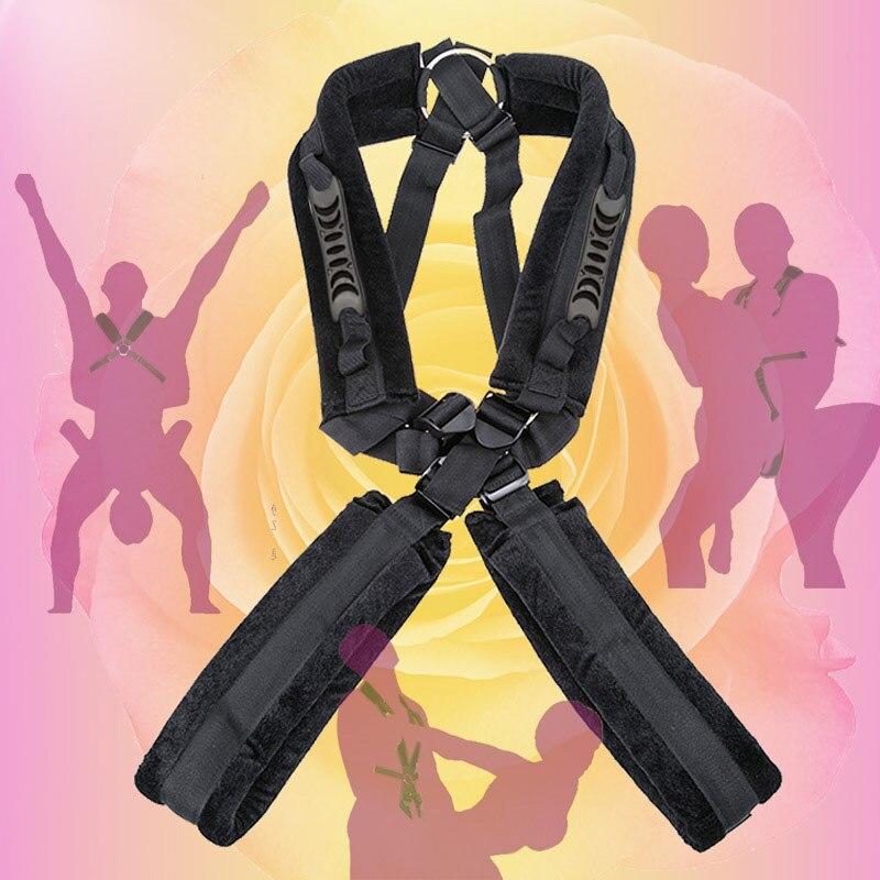 Секс качели секс-игрушка для женщин игры для семейных пар извращенный Фетиш SM любовь секс-игрушки позиции БДСМ бандаж наручники для ремня б...