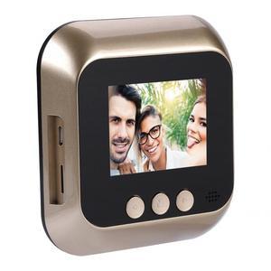 Image 2 - 2.4 Inch HD Screen Display Home Smart Doorbell Security Camera Electronic Door Viewer mirilla doorbell camera