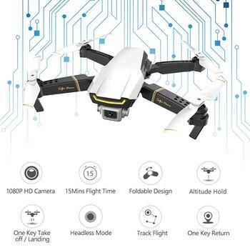 Selfie Drone Profissional Camera Quadrocopter FPV Dron RC Helicopter Mini Drone X Pro Drones with Camera HD VS GD89 XS809HW E58 4