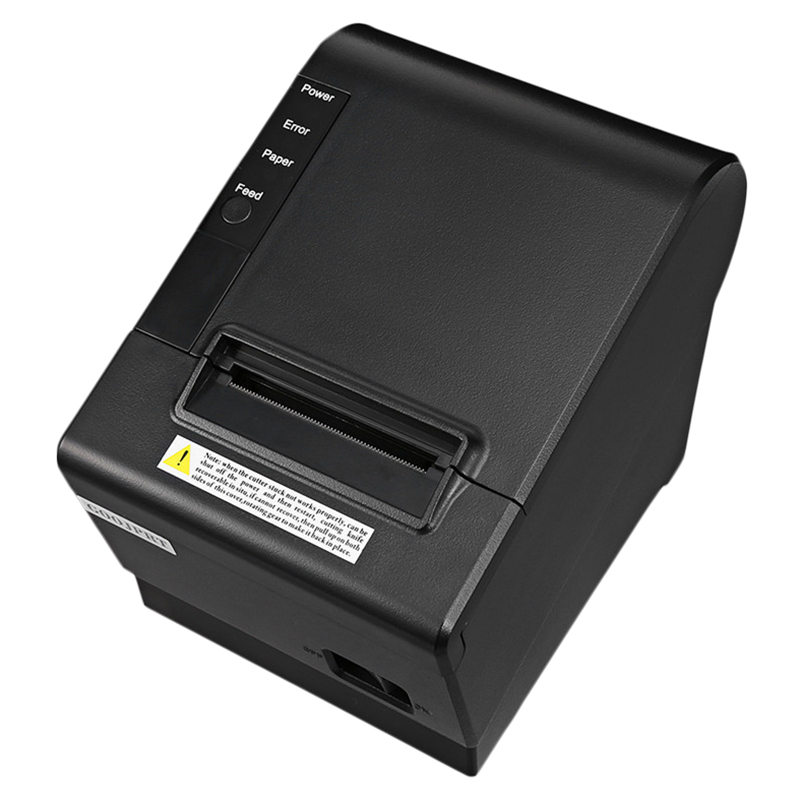 Small Pos Printer 200Mm/S 80Mm Receipt Thermal Printer With Usb Lan Ethernet Port Auto Cutter Bill EU Plug