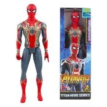Infinity War Titan Hero Series Iron Spiderman Iron Man Spider-man 30cm Action Figure Spider Christmas Gift Toys For Boy Children