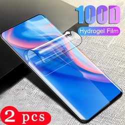 2Pcs for huawei y9 y9A y9s y8s y8p y7 pro 2019 y6 prime y6p y6s y5 lite 2018 hydrogel film Not Glass phone screen protector film