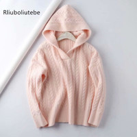 loose hooded sweater women long sleeve knitted sweater pullover oversized casual sweaters winter autumn female jumpers