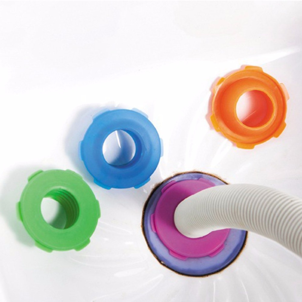 2018 New Pipeline Deodorant Silicone Ring Washer Tank Sewer Drain Seal Plug Pests Control Mothproof Bathroom Drain Seat Ring