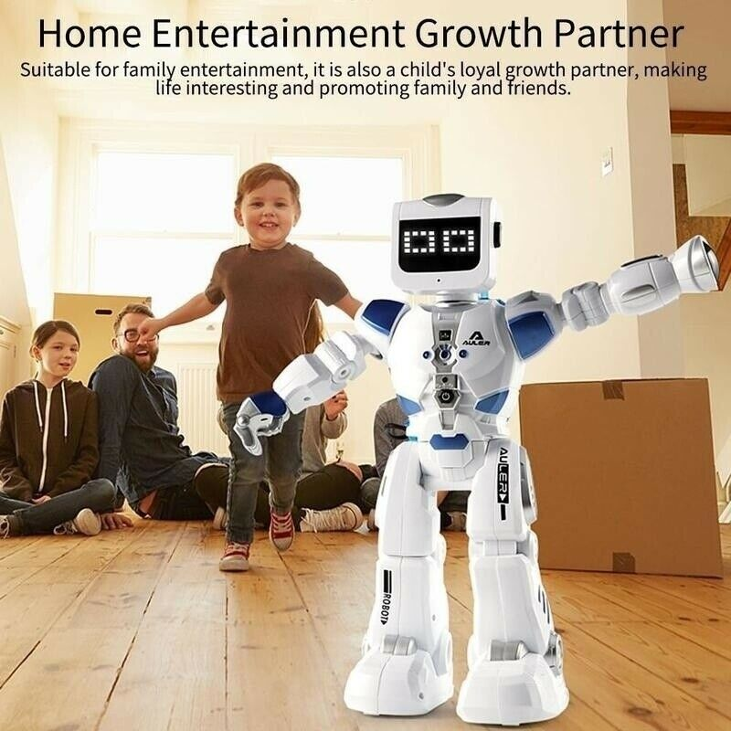 Inteligente robô alfa brinquedo hydroelectric híbrido robô inteligente rc controle de som cantando dança robô brinquedos educativos das crianças - 3