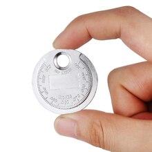 1 шт. Свеча зажигания зазор инструмент измерения монета Тип Gage Высокое качество авто аксессуары от 0,5 до 2,5 мм