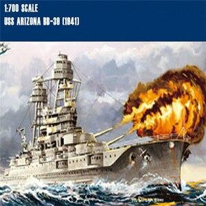 Image 2 - DIY Ship Model For 1/700 Scale USS Arizona Class Battleship BB 39 Plastic Military Ship Model Kits