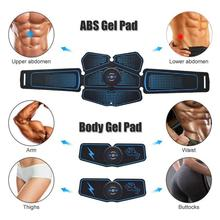 Electrostimulation Muscle Stimulator EMS Abdominal Vibrating Belt ABS Muscular Hip Trainer Massage Home Gym Fitness Equipment 7