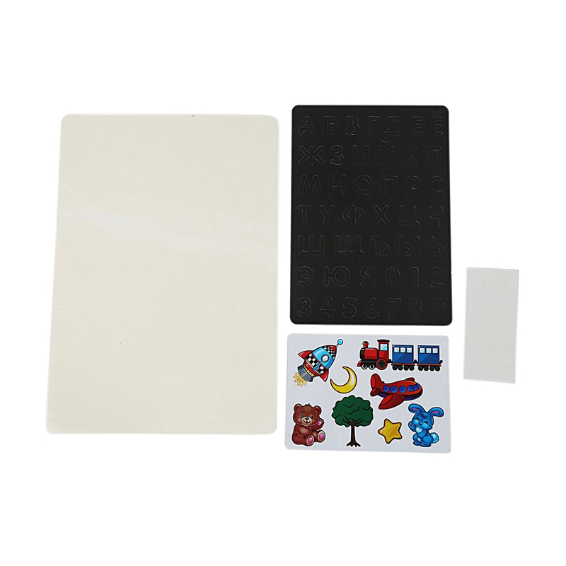 AAY-A3 LED Electronic Drawing Board Children'S Early Education Color Graffiti Painting Writing Fluorescent Plate