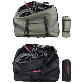 """14""""16""""20"""" Folding Bike Carrier Bicycle Carry Packing Bag Foldable Bicycle Transport Bag Waterproof Loading Vehicle Pouch"""