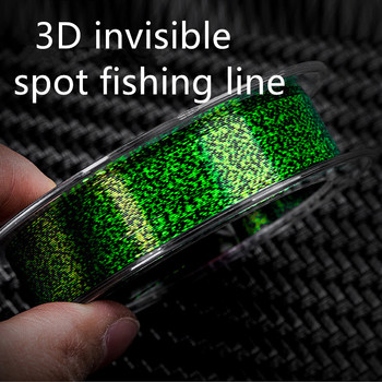 Fishing 100m Fishing Line Speckle Carp Fluorocarbon Line Super Strong Spotted Line Sinking Nylon Fly Fishing Line 0.12-0.50mm maximumcatch 100ft 4 8wt weight forward floating fly line with sinking tip double color fly fishing line