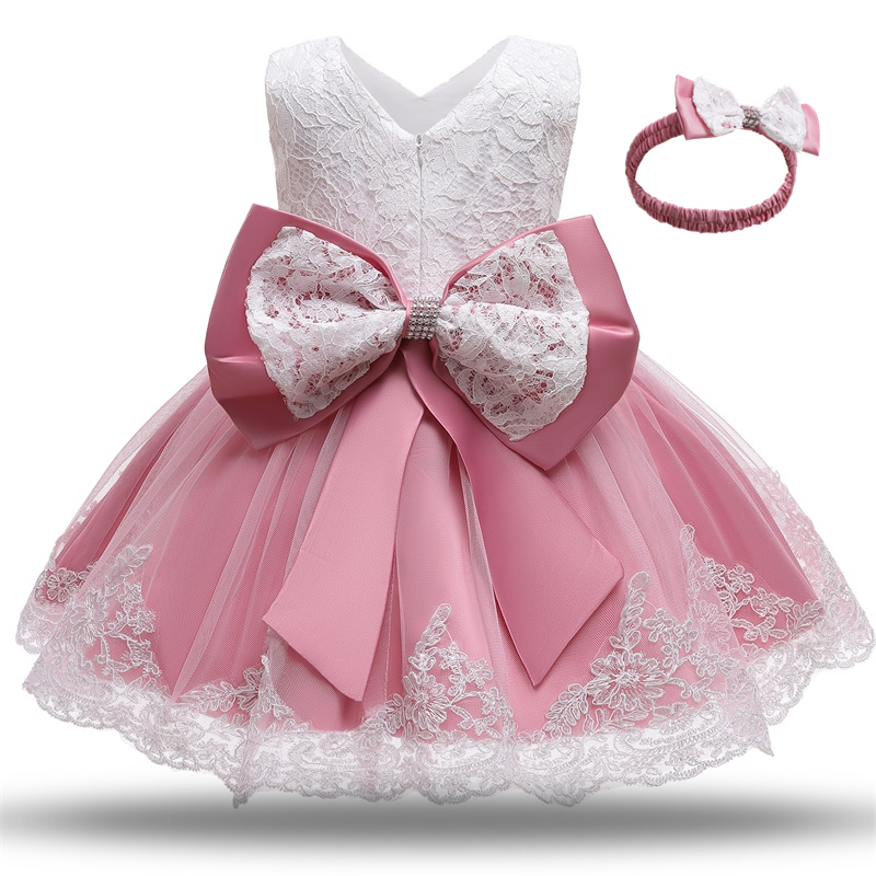 Kids Dress for Girls Summer Dresses for Party and Wedding Christmas Clothing Princess Flower Tutu Dress Children Prom Ball Gown 4