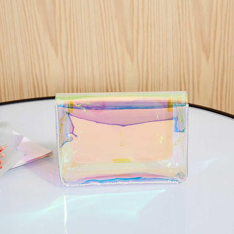 Laser Transparante Pvc Schoudertassen Vrouwen Mini Bakken Handtas Kettingen Messenger Bag Vrouwelijke Dames Clutch Strandtas Dame Portemonnee