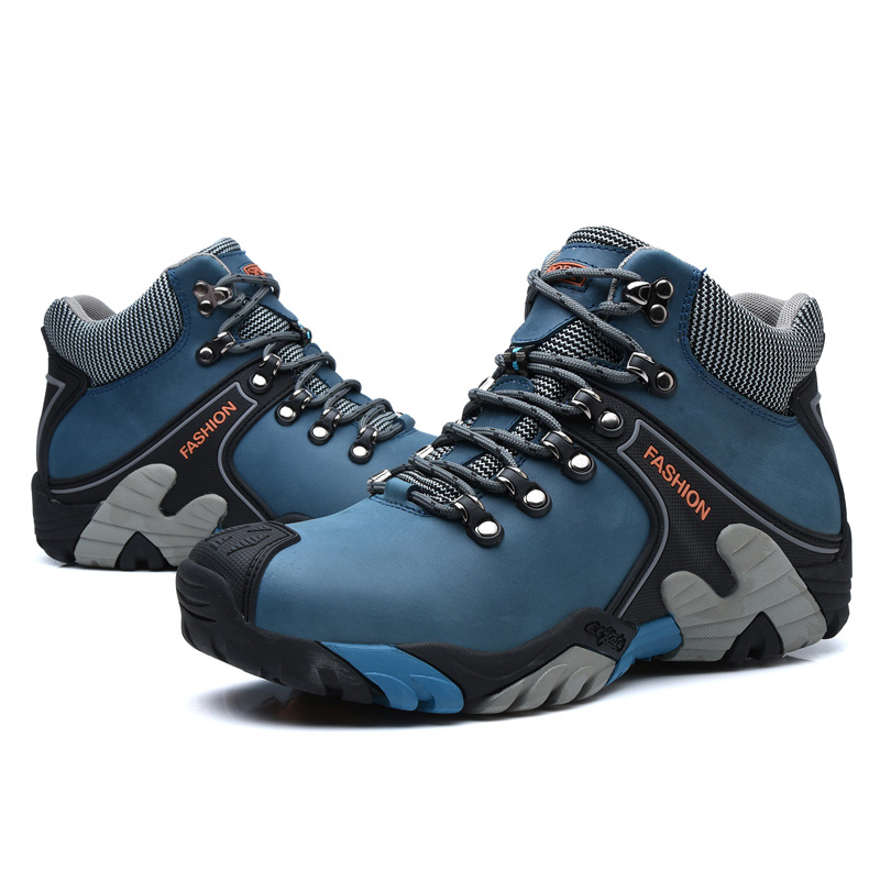 New Winter Climbing Shoes For Men Soft Wear-resisting Skid Resistance Collision Avoidance