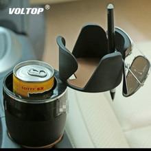 Универсальный отдельный автомобильный подстаканник, держатели для напитков, вращающийся удобный дизайн, держатель солнцезащитных очков для мобильного телефона