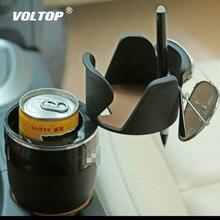 Universal แยกรถถ้วยผู้ถือเครื่องดื่มผู้ถือ Rotatable Convient ออกแบบโทรศัพท์มือถือเครื่องดื่มผู้ถือแว่นตากันแดด