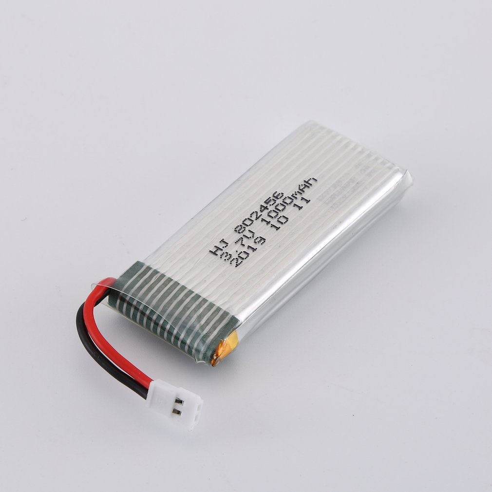 3.7V 1000mAh Rechargeable Battery Drone Lipo Battery RC Lithium Battery For H12C/H12W For JX 509/509B RC Helicopter Set