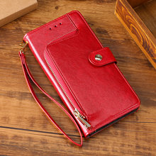 Luxury Cover Leather Case For Motorola moto G4 G5 G6 G7 G8 E5 E6 P40 Classic zipper Card Holders Phone Case P30 Play P40 power(China)