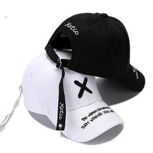 Модная бейсбольная Кепка с вышивкой для мужчин, Летние черные хлопковые кепки для женщин, хип-хоп бейсболка с костями, мужские Регулируемые ...