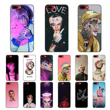 MaiYaCa Lil Peep Lil Bo Peep 블랙 TPU 소프트 실리콘 전화 커버 for iPhone 8 7 6 6S Plus 5 5S SE XR X XS MAX Coque Shell(China)