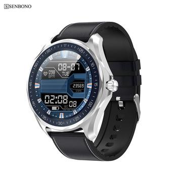 SENBONO S09 Sport IP68 Waterproof Smart Watch Men Smartwatch Sport Clock Fitness Bracelet Heart rate monitor Wristband for phone 1