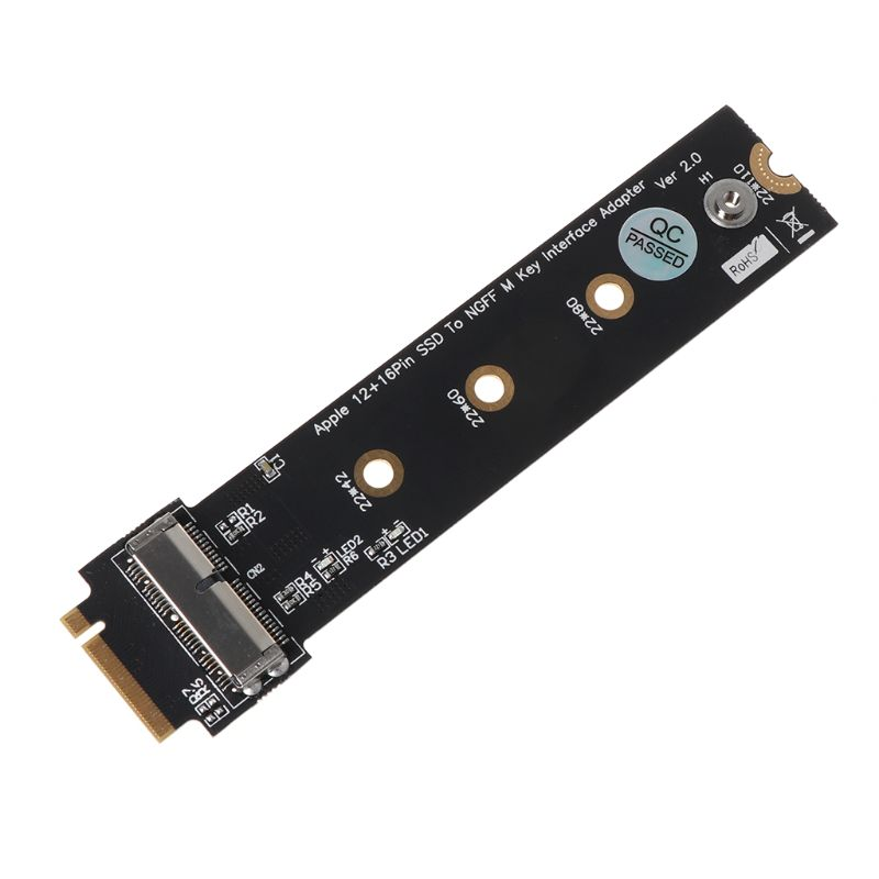 PCIe SSD to M.2 Key M <font><b>Adapter</b></font> Card for 2013 2014 2015 2016 for <font><b>Macbook</b></font> Air Mac Pro Retina Hard Drive Converter to NGFF <font><b>M2</b></font> image