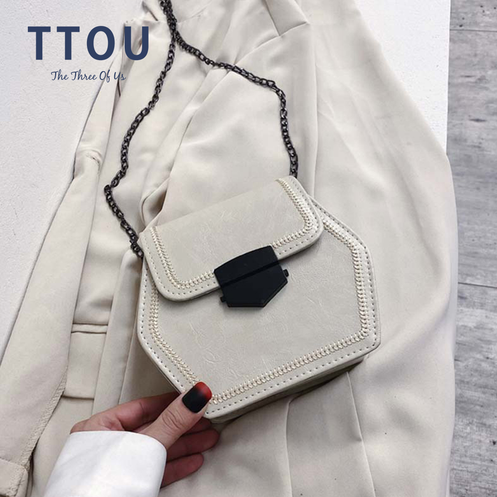 Vintage Small Flap Chain Shoulder Messenger Crossbody Bags Women Handbags Fashion Ladies Clutch Casual Totes Female Purse