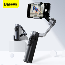 Baseus 3 ציר Gimbal כף יד מייצב אלחוטי Bluetooth Selfie מקל עבור iPhone 12 11 פרו X סמסונג Huawei Smartphone Gimbal