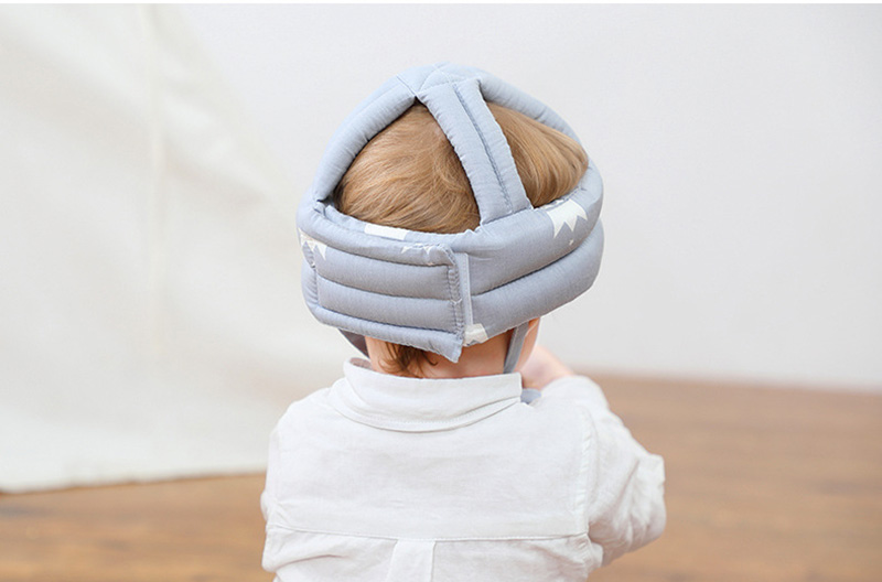 Adjustable Baby Hat Protective Anti-collision Safety Helmet Baby Cap Toddler Kids Hat for Girl Boy Accessories Cotton Mesh 6M-5Y 012
