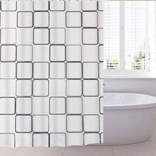Набор штор для ванной комнаты водонепроницаемая утолщенная Штора