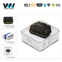 Vgate-escáner iCar Pro ELM 327 OBD2  Bluetooth 4 0  WIFI para Android/IOS  herramienta automática de diagnóstico de coche OBD  ELM327  V2.1  Easydiag  PK V1.5