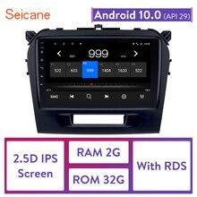 Seicane 9 inch Android 10,0 2 Din Auto Radio Für 2015 2016 SUZUKI VITARA GPS Kopf Einheit Tochscreen Wifi Multimedia player
