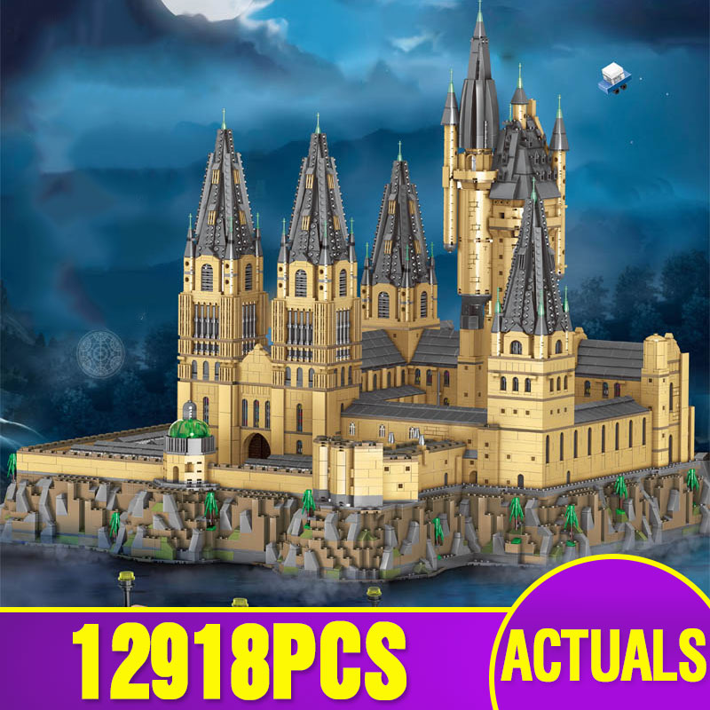 Lepining 16060 Moive Toys The 71043 Magic Castle And MOC-30884 Epic Extension Castle Building Blocks Bricks Christmas Toys Gifts