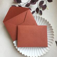 Mała ilość dostosowanego przyjaznego dla środowiska naturalnego papieru 198g pomarańczowa koperta zaproszenie na formalne na wesele tanie tanio CRANEKEY CN (pochodzenie) customized 198cl Okna koperty Zwykłym papierze Prezent koperty