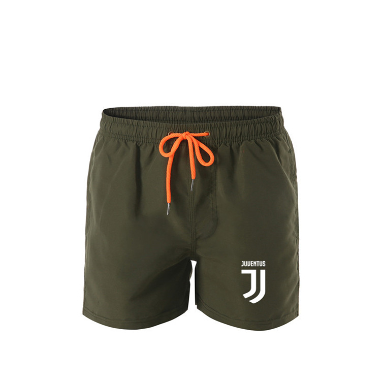 2019 New Products Summer MEN'S Sports Pants Casual Beach Shorts Solid Color Shorts Men's Wholesale Customizable Logo