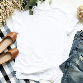 2020 الوردي زهرة طباعة المرأة تي شيرت مثير على شكل قلب طباعة القمم الملابس الإناث Harajuku الشارع الشهير س الرقبة عادية قميص للسيدات 7