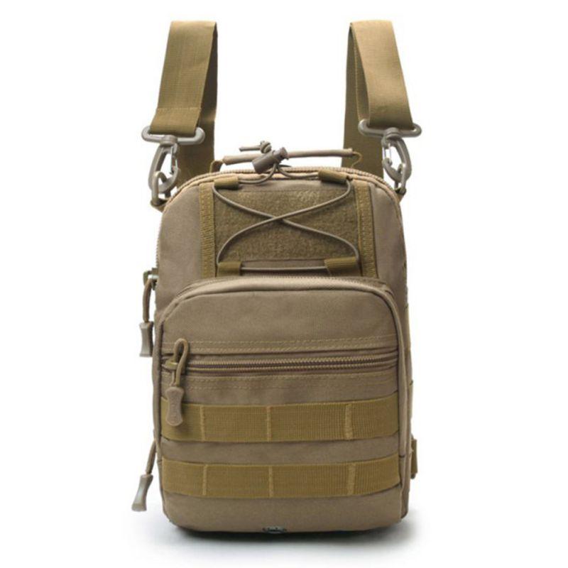 Large Capacity Backpack Multifunction Single Double Shoulder Chest Messenger Bag Handbag Outdoor Sports Climbing Backpack