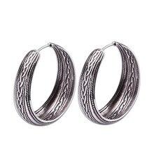 New Style 925 Sterling Silver Vintage Fashion  Earrings For Women Men jewelry Wedding Stud