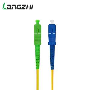 Image 3 - 10 Pcs SC APC SC UPC Simplex 2,0mm 3,0mm PVC Single mode Fiber Patch Kabel Jumper Faser patchkabel Fibra Optica