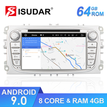 цена на Android 6.0.1 Two Din 7 Inch Car DVD Player For FORD/Focus/S-MAX/Mondeo/C-MAX/Galaxy 2GB RAM 3G/4G Wifi GPS Radio