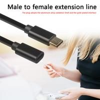 Cavo di prolunga maschio-femmina da 1.5m di tipo C pratico cavo di ricarica USB C portatile durevole multifunzionale