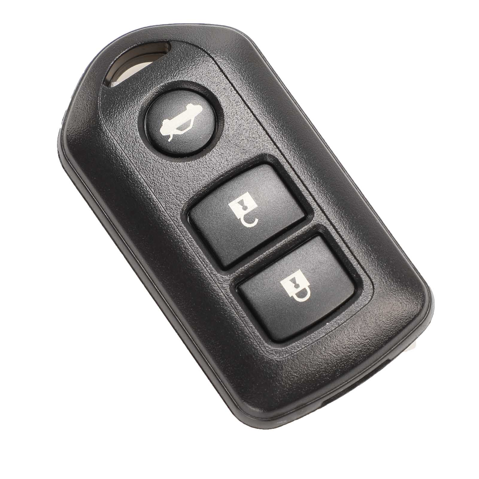 Kutery  2/3 Buttons Replacement Remote Car Key Shell Case Fob For TOYOTA Prado RAV Vios Yaris