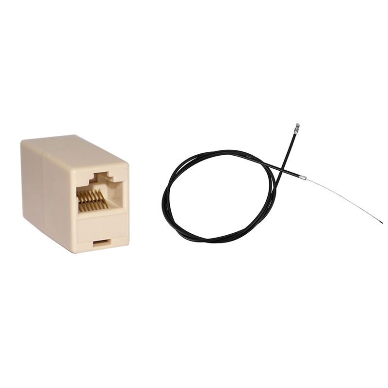 Front Brake Cable Complete With Outer Cable & RJ45 Coupler Cat 5E Straight